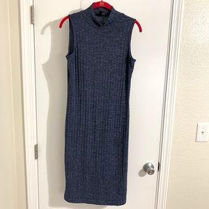 Serena Williams Navy Blue Full Length Dress